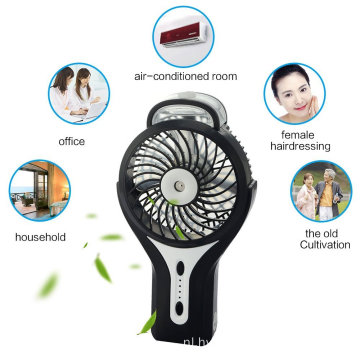 Portable Handheld USB Mini Misting Fan voor op reis