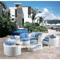 White Color Sectional Sofa Outdoor Garden Furniture Bp-873A