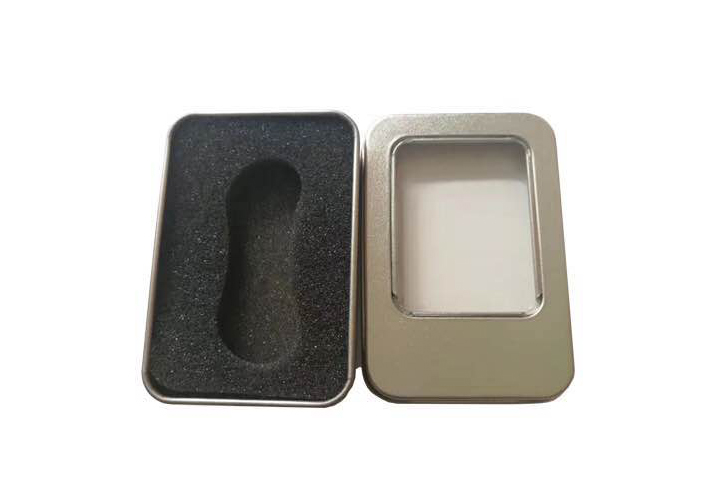 Rectangular Spinner tin box