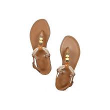 Sandálias com salto plano (hcy02-439)