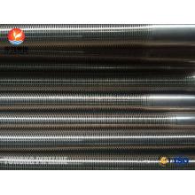 Níquel de Cobre 90/10 SB111 C70600-061 Tubo de Aleta Baixa