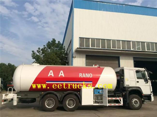 LPG Filling Trucks