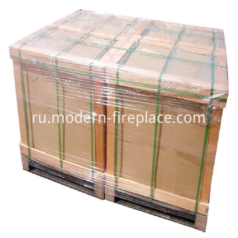 Steel Plate Wood Coal Burning Stoves Packaging