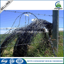Double Reversed Twist Barbed Wire in Kenya