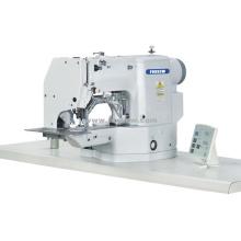 Máquina de costura com padrão de ventilação e orifício de tampões automáticos