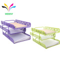 Factory Supplies office Metal Desktop File tray Document Holder