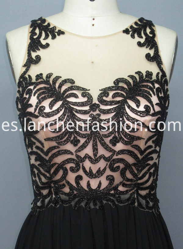 Embellished Evening Dress