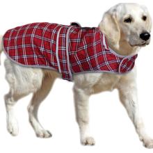 British Plaid Dog Coats for Medium Large Dogs