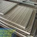 Grelhas de chapa galvanizada, grades de aço galvanizado de aço aberto, malha de calçada de aço galvanizado