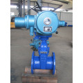 Electric no-rising stem rubber seal gate valve