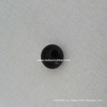 Bola de goma de 25 mm con orificio