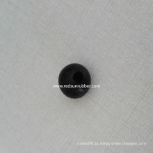 Bola de borracha de 25mm com furo