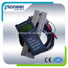 Medidor de flujo ultrasónico TDS-100H portátil