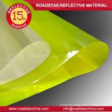 Hot selling microprism reflective pvc roll