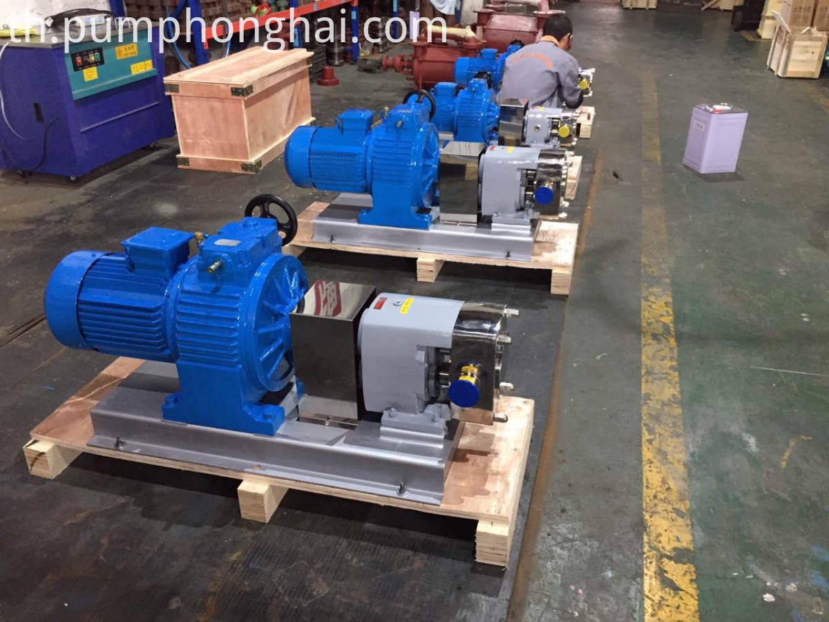 high viscosity food grade pump
