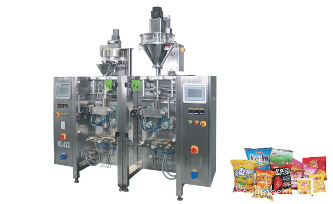 VERTICAL TWIN TUBE PACKING MACHINE