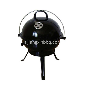 14 '' Kettle Outdoor Tabletop Grill per barbecue