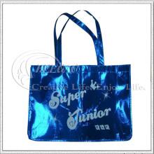 Saco de compras não tecido com laminação fosca (KG-NB009)