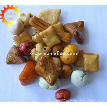 Chrismas partido snacks japonés arroz galleta