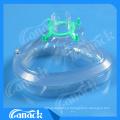 Consumibles médicos desechables Máscara de anestesia de PVC con válvula de retención