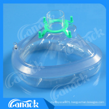 PVC Anesthesia Face Mask with Ce ISO