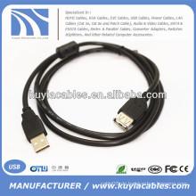 Blau / schwarz voll Kupfer, CCS, USB-Kabel für Computer,