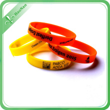 Factory Hot Sale OEM Style Custom Printing Logo Silicon Wristband