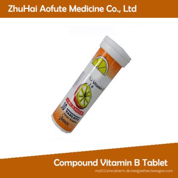 Vitamin C schäumende Tabletten mit GMP-Zertifizierung