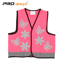 kids+catoon+safety+pink+reflective+sports+vest