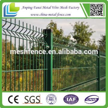 CE-Zertifikat gebogenen Metall-Draht-Mesh-Zaun