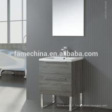 Cabinet de salle de bain MDF au sol de style européen