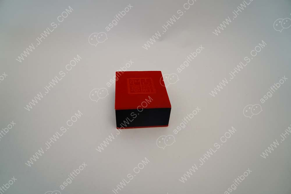 Square Flannelette Jewellery Box