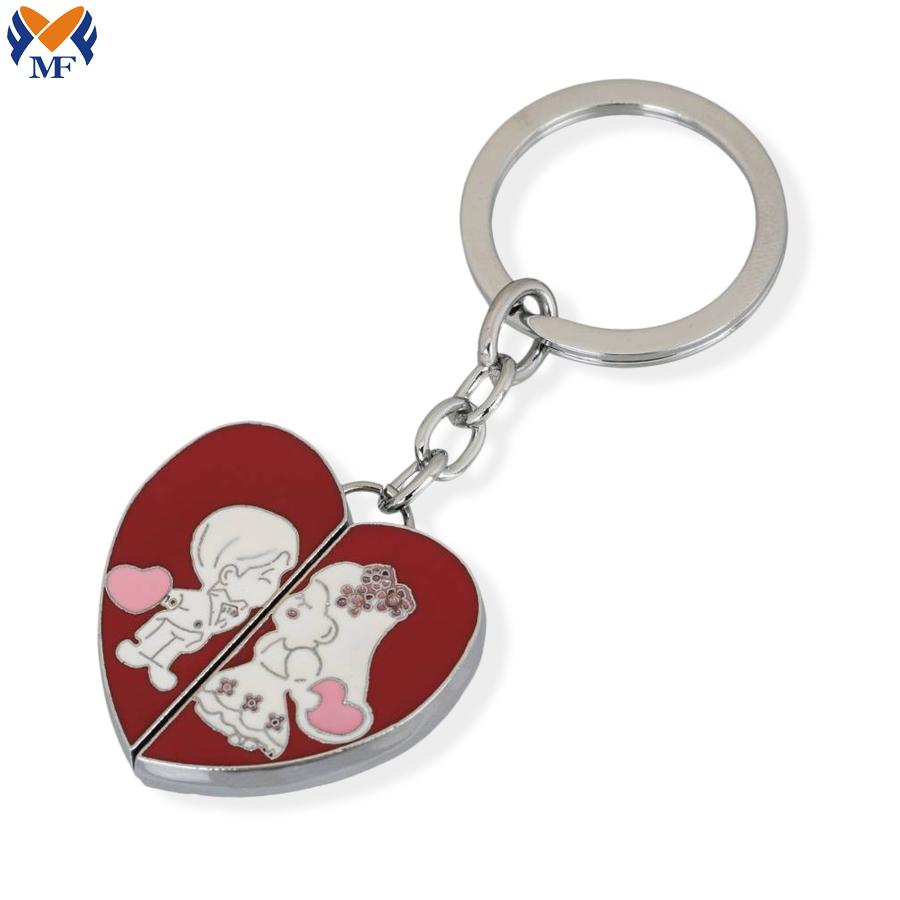 Romantic Couple Keychain