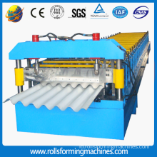 Galvanis Panel bergelombang Roll Forming Machine
