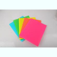 Pasta de papel de carta do escritório A4
