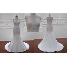Mermaid Jewel Wedding Dress Bridal Gown