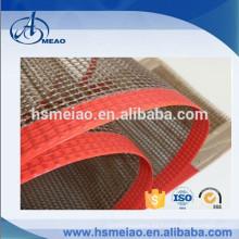 Borde personalizado y tipo de junta PTFE Teflon Mesh Belt