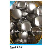 ANSI B16.9 Трубные фитинги Бесшовные колпачки из нержавеющей стали
