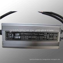 Transformador magnético impermeable de 100W ip67 para llevado