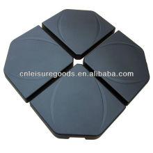 Pieza de base de paraguas colgante de granito de alta calidad