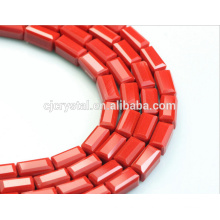 Vente en gros de gros boucles de verre de cristal de cube de qualité 5A à la Chine