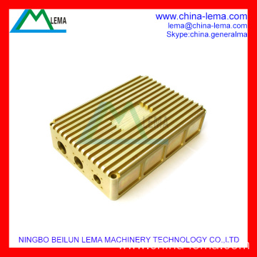 Precision Brass Telecom Cavity Machining Part
