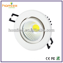 "20W 5"" recessed COB LED Downlight 1520LM"