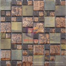 Copper Mix Crystal Mosaic Tile (CFM930)