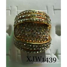 Anel de tamanho grande do diamante (xjw1439)