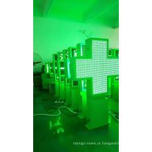 Display LED de farmácia com dupla face P8
