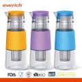 1000ml Everich Borosilikatglas BPA Freie sichere tragende Wasserflasche
