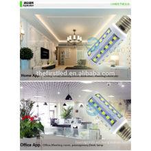 E27 blanco cálido blanco, SMD 5730 24 luces del maíz del proyector de las luces ahorro de energía lámparas llevadas