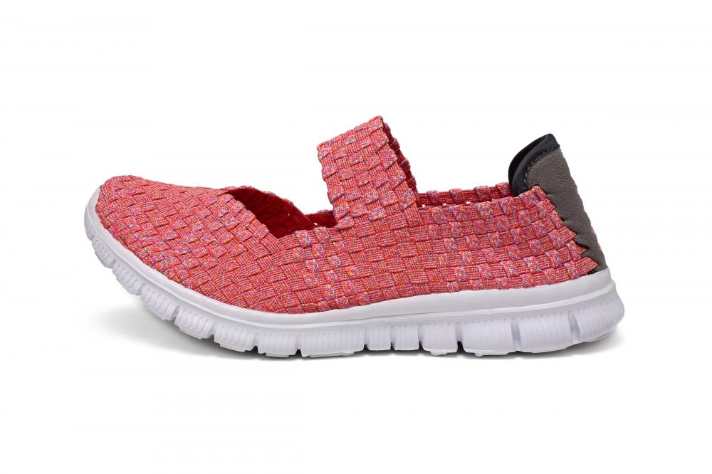 Red Woven Dance Shoes