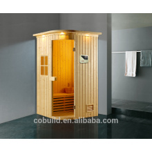 K-718 Sauna room made in Foshan 2 person small stream room, portable steam sauna room